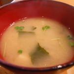 16835671 - 味噌汁
