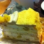 ハーブス - マロンのケーキ