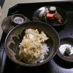 料理旅館・天ぷら吉川 - 天茶です。