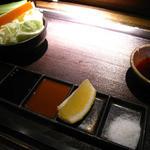 串揚 葵 - 5種類のタレ
