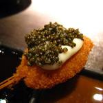 串揚 葵 - ミンチ肉のトンブリ乗せ