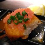 串揚 葵 - 長芋めんたいのせ