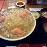 憩 - 蟹玉丼