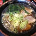 天ぷらそば ふくろう - 鴨なんばん600円、鴨肉が特別で美味!
