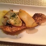 16840406 - 鮭と???(忘れました)のガーリックバター焼