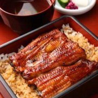 天然鰻と並んで人気がある「坂東太郎」うな重は天然の味に限りなく近づけた努力の結晶。