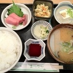 まつなが - 貝汁定食 ¥890円