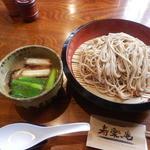 寿楽庵 - 鴨汁そば 1,000円