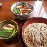 寿楽庵 - 鴨汁そばと鴨南ばん