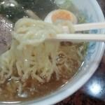 ラーメン あたみ  - 醤油ラーメン 麺