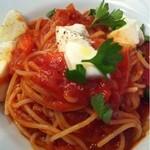 16843497 - 北海道産モッツラレラとフレッシュトマトのスパゲッティーニ