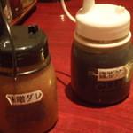 食道楽 - 味噌ダレ・醤油ダレ