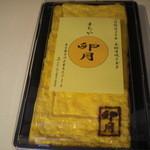 ジャンルにとらわれない飲食店 セカンドらいふ - カツオだしの厚焼き玉子 600円