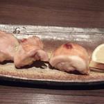 16845350 - 能登鶏天然塩炙り