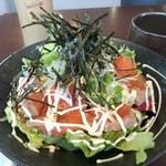 kawara CAFE&DINING + PLUS - ランチサーモンアボカド丼★