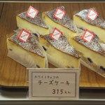 アコット - チーズケーキ 315円