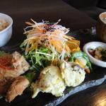 穀菜健美 cafe - 穀菜ランチ