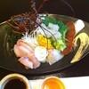 旅館 神仙 - 料理写真:一人前です! 二種類のタレをつけて。