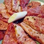 16850044 - ←の肉のアップですw