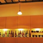 しゃぶしゃぶ・鋤焼・虎河豚 的山 - 日本酒と焼酎