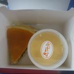 シェ・タクボ - 料理写真:スフレチーズ、プリン