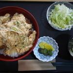 知夫の里 - カツ丼