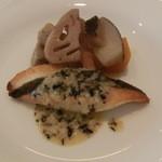 レストラン タケウチ - 的鯛のポアレ