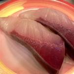 活き魚回転寿司 魚鮮 - ぶり