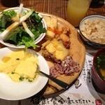 食彩健美 野の葡萄 - 野菜・天ぷら…