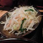 つけ麺さとう - トッピングの野菜