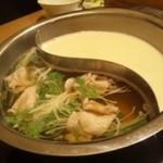 16856619 - 2色鍋~