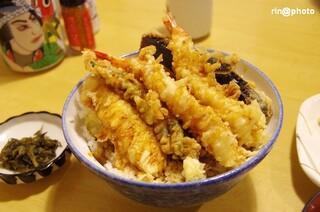 はちまき - お正月特別メニュー 天丼¥900