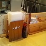 饗 くろ喜 - テーブルセット