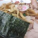 青島食堂 - チャーシュー大盛@¥850、麺¥50増し、¥メンマ50増し