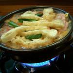 いし井 - 豚の地獄鍋。良いお出汁で美味しかった~\(^o^)/