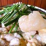 百寿庵 - 料理写真:プリプリホルモンもつ鍋