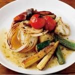 【焼】焼き野菜 アンチョビバターソース