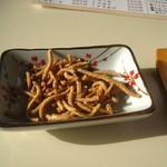 まごころ庵 - 揚げ蕎麦