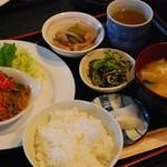 コーヒーハウス スイート - Aミニランチ(¥500)