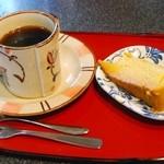 コーヒーハウス スイート - ランチのデザート&珈琲