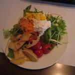 ヴォーノ・イタリア - サラダバーで野菜補給
