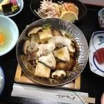 Hachikou - ランチ ブリしゃぶ鍋
