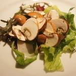 ローブリュー - 生マッシュルームのサラダ(1050円)
