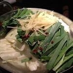 木村屋本店 - 生姜もつ鍋