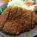 福よし - 福よし(上ロースかつ定食)