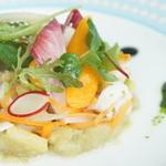 モナリザ - 海老、イカ、帆立貝のマリネ 色とりどりの野菜とともに