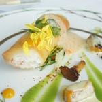 モナリザ - 真鯛とカニのクレピネット オマール海老のクリームソース