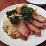 16865792 - 3種類の冷菜盛り合わせ。
