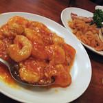 16865793 - エビチリ。チャーハンと一緒に食べたら最高です!