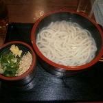 めん吉 - 湯だめうどん①(470円)